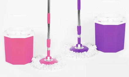 Clean Spin 360 Microfiber Octomop