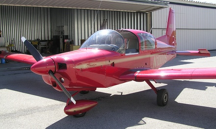 $75 for a Half-Hour Flight Experience and Museum Tour from Butler County Warbirds ($150 Value)