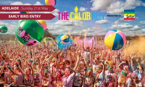 THE COLOR RUN: The Color Run™ - presented by Sportsgirl - Early Bird Entry for $35 (Plus Booking Fee), 21 May, Victoria Park Racecourse