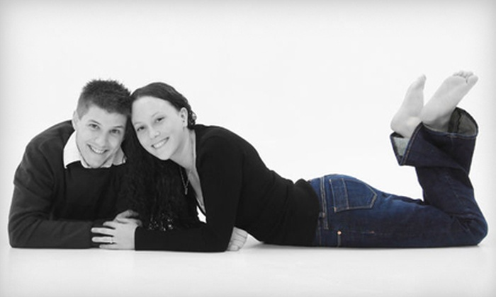 McMaster Studio - Moose Jaw: $20 for a Sweetheart Photo Package with One-Hour Shoot and Up to Four Prints at McMaster Studio (Up to $123 Value)