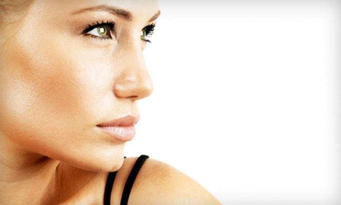 Options Hairstyling Inc. - Chesapeake: One or Three Custom Airbrush Tans at Options Hairstyling Inc. (Up to 54% Off)