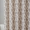 """13-Piece Jacquard 72""""x72"""" Shower Curtain Collection with Hooks"""