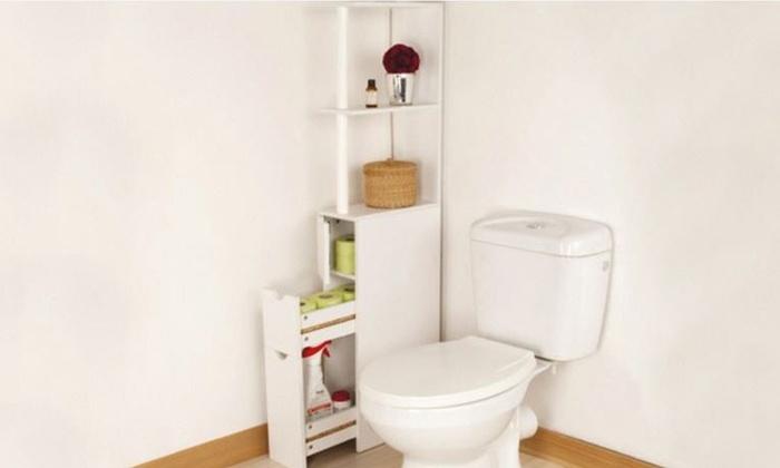 Mobiletto da bagno con cassetti | Groupon