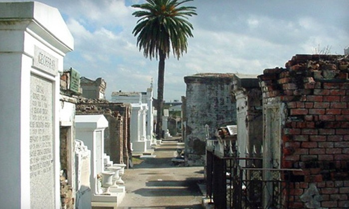 Spirit Tours New Orleans - French Quarter: Cemetery and Voodoo Tour for Two or Four from Spirit Tours New Orleans (Up to 52% Off)