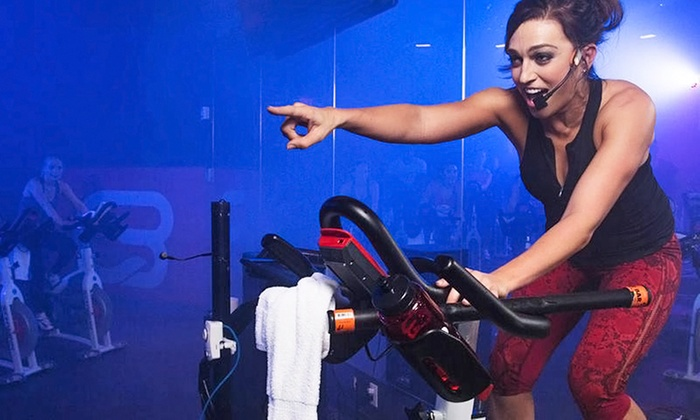 CycleBar - West Los Angeles: $40.50 for Four Premium Indoor Cycling Sessions with Water Bottle at CycleBar Culver City ($100 Value)