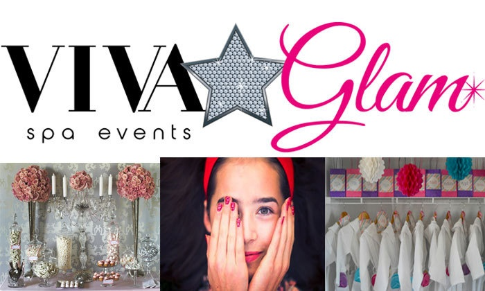 Viva Glam Spa Events - Toronto: Up to 50% Off spa package at Viva Glam Spa Events