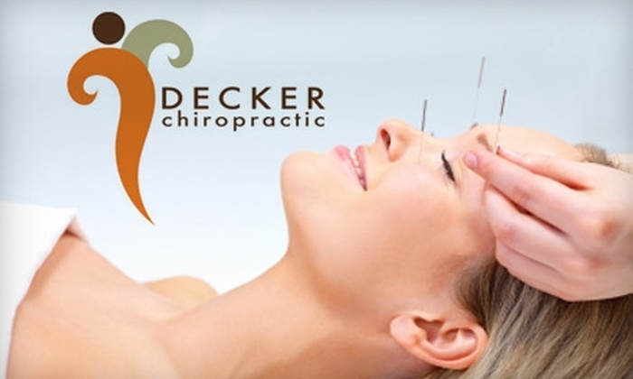 Decker Chiropractic - Olathe: $39 for an Exam and Acupuncture Treatment Plus a 20-Minute Hydromassage at Decker Chiropractic ($110 Value)