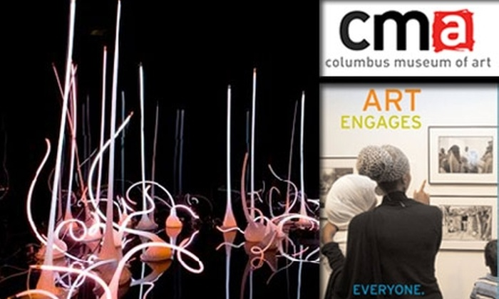 Columbus Museum of Art - Downtown Columbus: $30 for One-Year Member + Guest Membership to the Columbus Museum of Art ($60 Value)