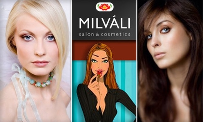 Milvali Salon & Cosmetics - Cow Hollow: $25 for a Women's Haircut at Milvali Salon and Cosmetics ($60 Value)