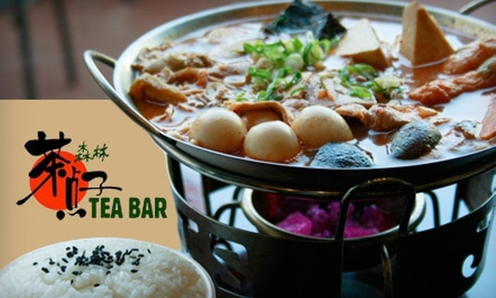 Tea Bar Cafe - Rowland: $5 for $10 Worth of Asian Fare, Boba Teas, Slushies, and More at Tea Bar Cafe in Rowland Heights