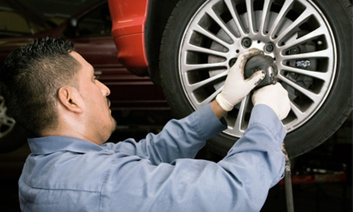 Dixie Mitsubishi  - Mississauga: One or Three Oil Changes with Tire Rotations at Dixie Mitsubishi (Up to 76% Off)