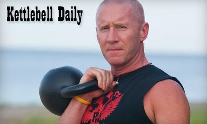 Kettlebell Daily - West Haven: $25 for Four Fitness Classes ($100 Value) or $99 for One Month of Max Fatburn Fitness Bootcamp ($235 Value) at Kettlebell Daily in West Haven