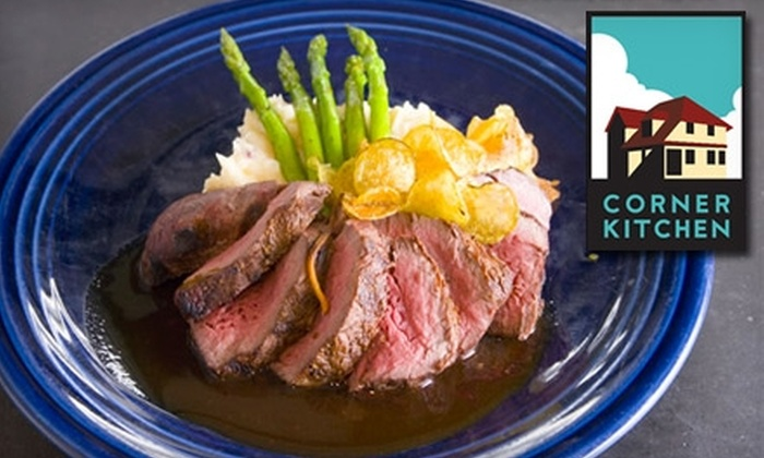 Corner Kitchen - Asheville: $15 for $35 Worth of Pan-American Dinner at Corner Kitchen (or $7 for $15 Toward Lunch)