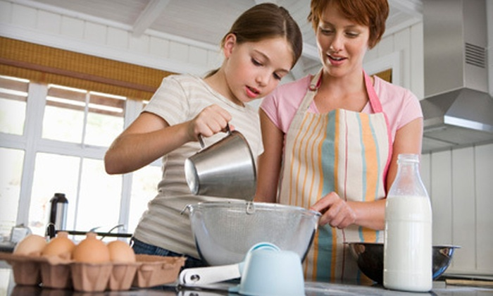 A Kid's Kitchen - Chicago: $45 for a Mommy and Me Fantasy Cake Decorating Class at A Kid's Kitchen in Naperville ($85 Value)