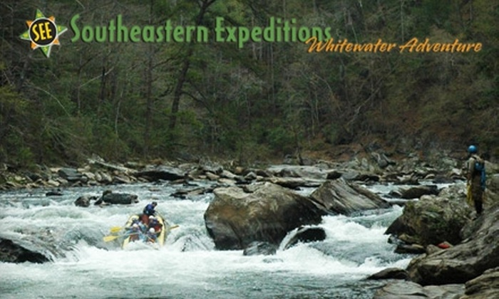Southeastern Expeditions - Clayton: $159 for an Overnight Rafting Trip Down the Chattooga River in Clayton