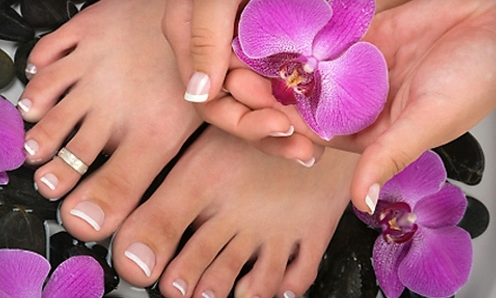 Airbrush Images Studio - Youngstown: $22 for a Spa Mani-Pedi at Airbrush Images Studio ($45 Value)