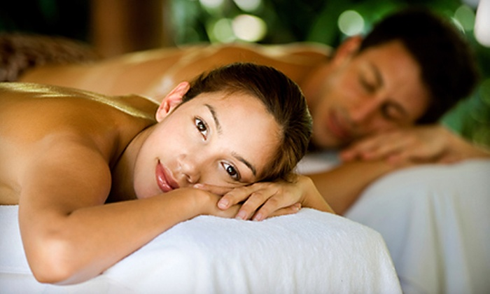 World of Health - North Beach: 60- or 90-Minute Couples Massage with Champagne and Strawberries at World of Health