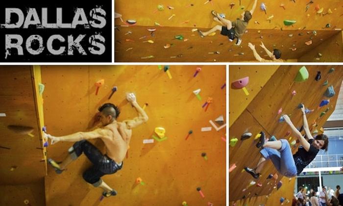 Dallas Rocks - Dallas: Four-Day Rock-Climbing Pass and Class at Dallas Rocks