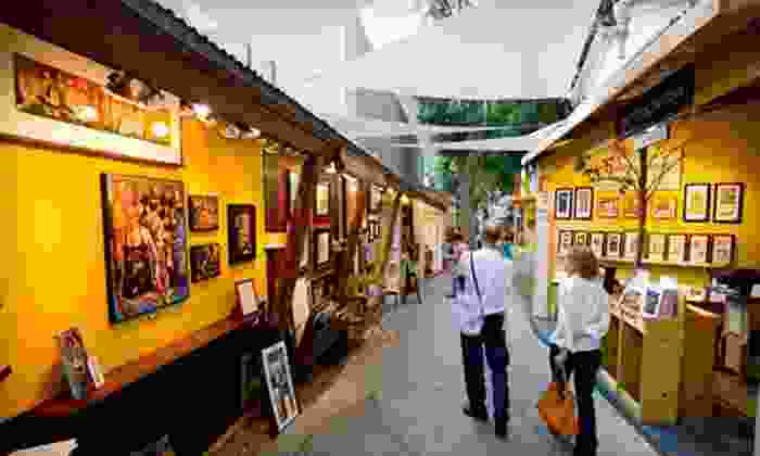 Sawdust Art Festival - Laguna Beach: $4 for a One-Day Adult General-Admission Ticket to the Sawdust Art Festival (Up to $7.75 Value)