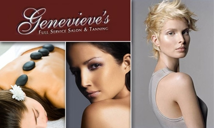 Genevieve's Full Service Salon and Tanning - Cay At Marina Pointe Condos: $50 for $110 Worth of Services at Genevieve's Full Service Salon & Tanning