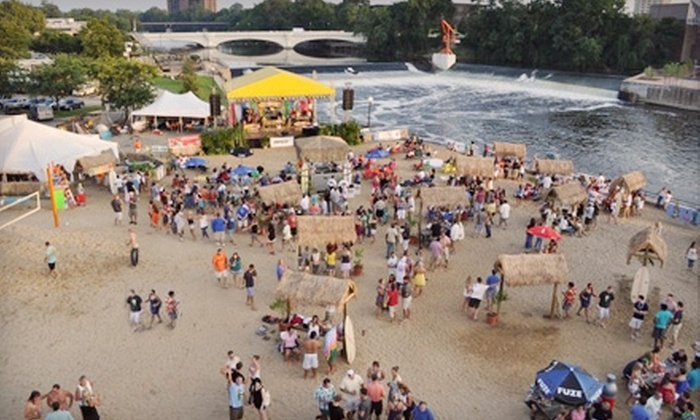 On the River Fest - Northeast South Bend: Two Admissions to Family Day or 21+ Beach Bash at On the River