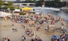 $10 for Two Tickets to On the River Beach Festival