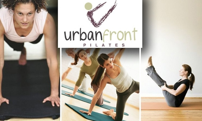 UrbanFront Pilates - Center City West: $45 for Five UrbanFront Pilates Mat Classes ($90 Value)