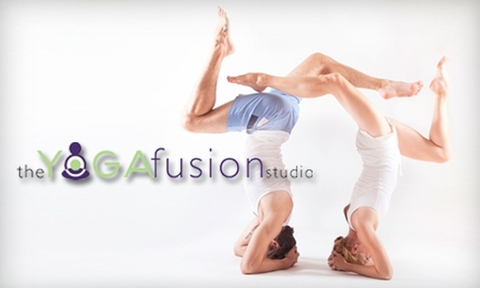 The Yoga Fusion Studio - Chevy Chase: $15 for Five Classes at The Yoga Fusion Studio (Up to $90 Value)