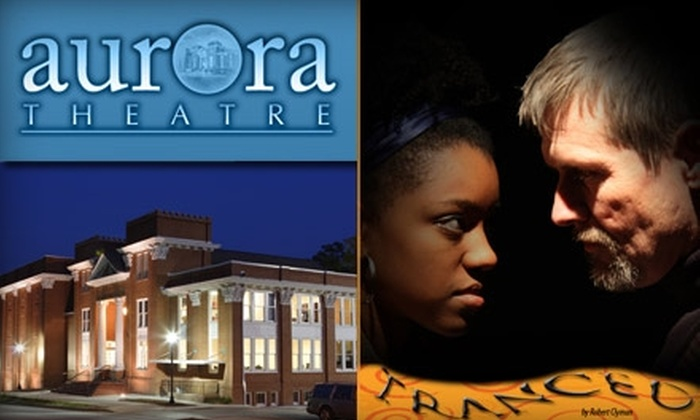"""Aurora Theater - Lawrenceville: $12 Ticket to """"Tranced"""" at the Aurora Theatre (Up to $30 Value)"""