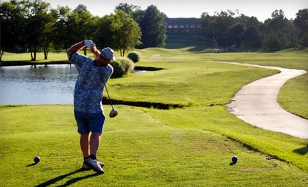 18-Hole Round of Golf including Cart Rental for 2 People (up to a $76 value) - The Woodlands Golf Club in Alton