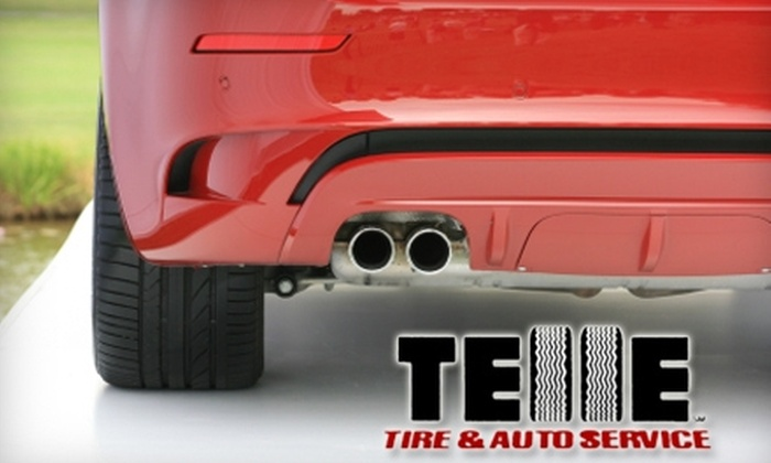 Telle Tire & Auto Service - Richmond Heights: $19 for Oil Change, Tire Rotation, and Wiper-Blade Replacement at Telle Tire & Auto Service ($69 Value)