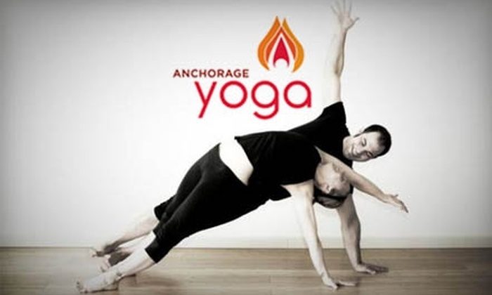 Anchorage Yoga - Midtown: $49 for 10 Yoga Classes at Anchorage Yoga ($130 Value)
