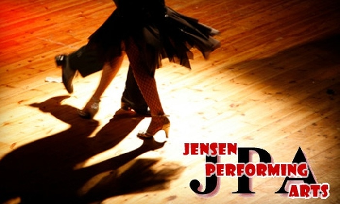 Jensen Performing Arts - Milpitas: $35 for Six Hip-Hop, Tap, Zumba, or Ballet Dance Classes at Jensen School for the Performing Arts ($75 Value)
