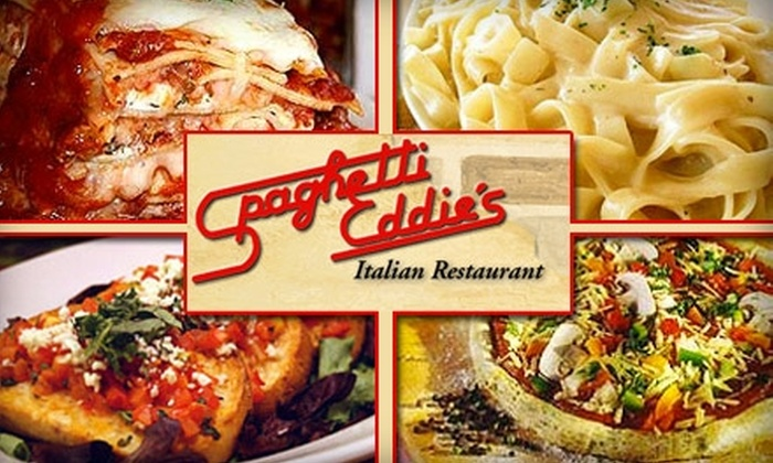 Spaghetti Eddie's - Multiple Locations: $15 for $30 Worth of Italian Fare at Spaghetti Eddie's