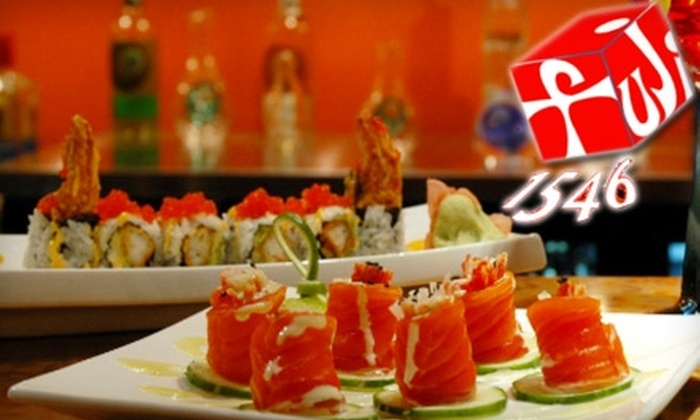 Fuji1546 Restaurant and Bar - Quincy: $12 for $25 Worth of Sushi and Japanese Fare at Fuji 1546 Restaurant & Bar in Quincy