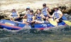 Sierra Railroad and Sunshine Rafting Adventures - Oakdale: $75 for a Seven-Hour Rail and Raft Adventure from Sierra Railroad and Sunshine Rafting Adventures in Oakdale (Up to $150 Value)