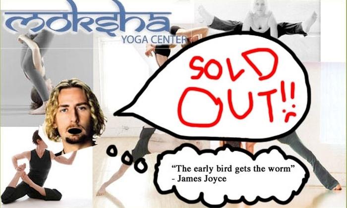 Moksha Yoga Center - Chicago: $5 Moksha Yoga Class