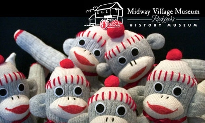 Midway Village Museum - Rockford: $15 for a Four-Ticket Family Package to the Sock Monkey Madness Festival ($30 Value)