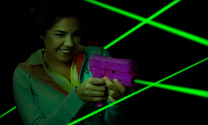 Lazer FX–Lazer Tag - Fayetteville: 4- or 10-Hour New Year's Eve Laser-Tag Party Package at Lazer FX–Lazer Tag in Fayetteville (Up to 61% Off)