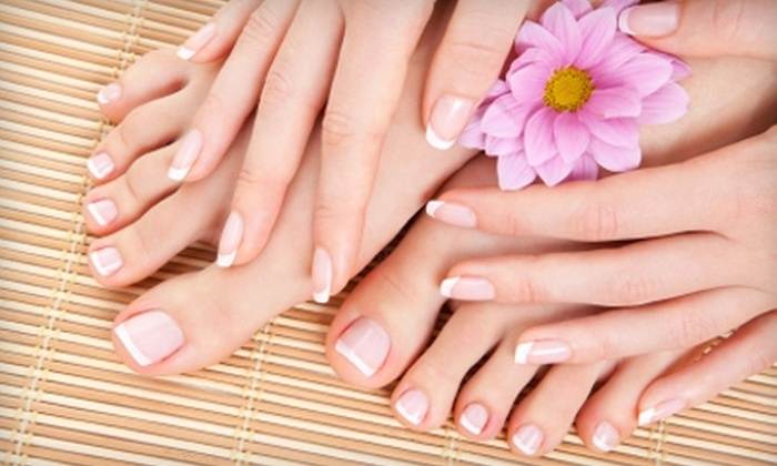 Esse Studio Salon and Day Spa - York: $37 for a Mani-Pedi ($75 Value) or $15 for $30 Worth of Waxing Services at Esse Studio Salon and Day Spa in York