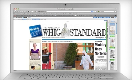 The Kingston Whig-Standard - The Kingston Whig-Standard in