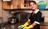 Up to 57% Off Cleaning from Maid in America