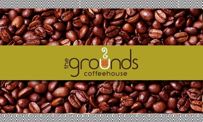 The Grounds Coffeehouse - West End: $8 for $16 Worth of Coffee at The Grounds Coffeehouse
