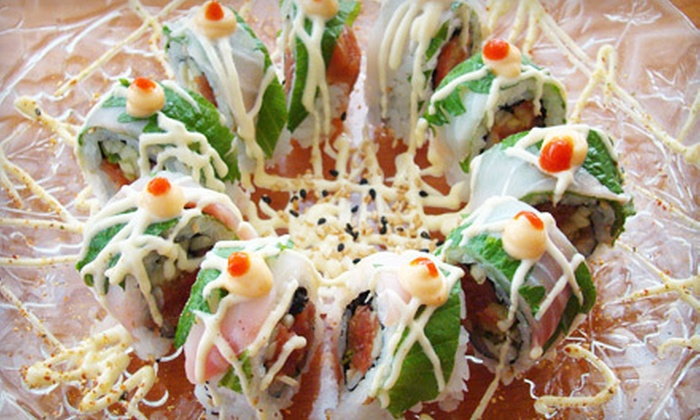 Sushi Shoya - Madeira Beach: Japanese Dinner Fare and Drinks for Two or More at Sushi Shoya in Madeira Beach (52% Off)
