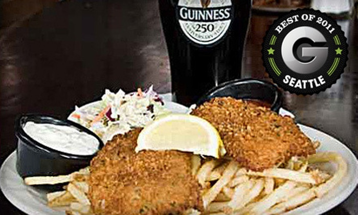 Paddy Coyne's - Multiple Locations: $10 for $20 Worth of Irish Pub Fare at Paddy Coyne's