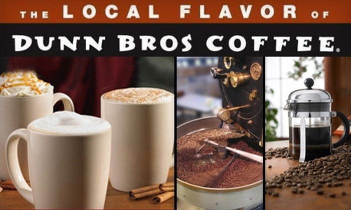 Dunn Bros Coffee Nashville - Downtown Nashville: $10 for One Pound of Coffee Beans and a Large Coffee Beverage at Dunn Bros Coffee