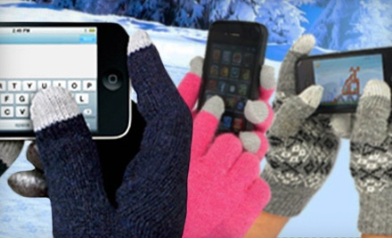 One Pair of Touchscreen-Compatible Gloves (a $30 value) - smarttipsgloves.com in