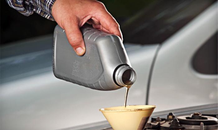 Belmont Auto Enterprises - Kilbourn Park: Standard or Synthetic Oil-Change Package at Belmont Auto Enterprises (Up to 60% Off)