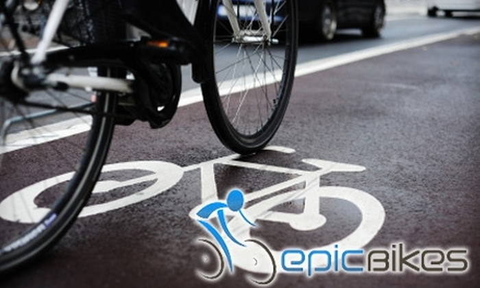 Epic Bikes - McDonough: $35 for a Bike Tune-Up and Wash at Epic Bikes ($95 Value)
