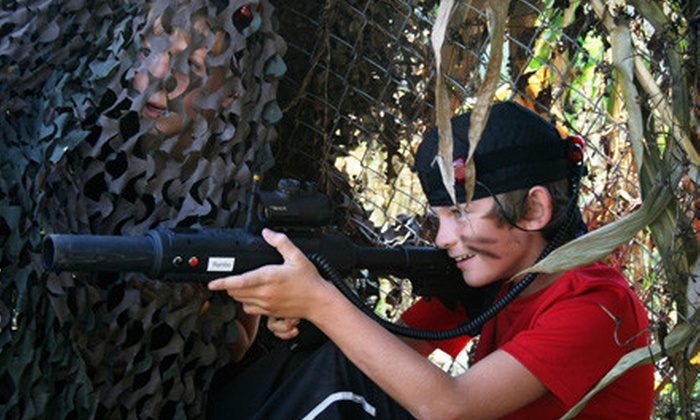 Kersey Valley Laser Tag - High Point: Laser-Tag Adventure for Two or Four at Kersey Valley Laser Tag in High Point (Up to 56% Off)